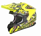 Prilba Scorpion VX-15 EVO AIR VECTOR neon yellow multi