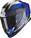 Scorpion EXO R1 AIR HALLEYBlue Neon Yellow